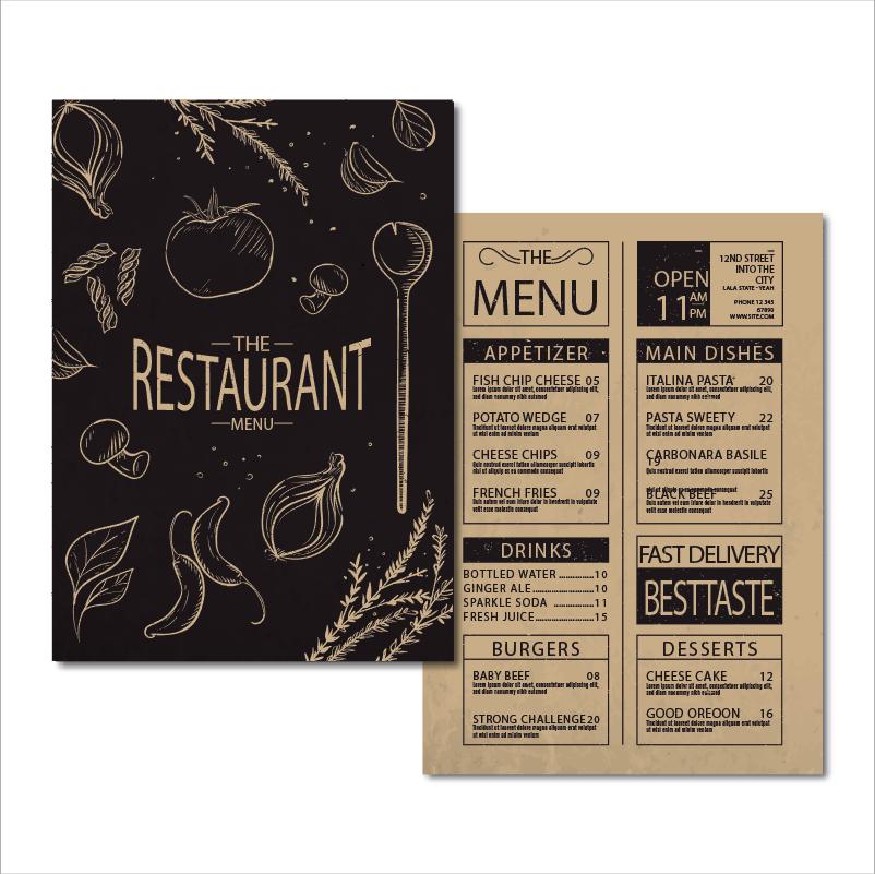 Restaurant Printing 餐廳印刷